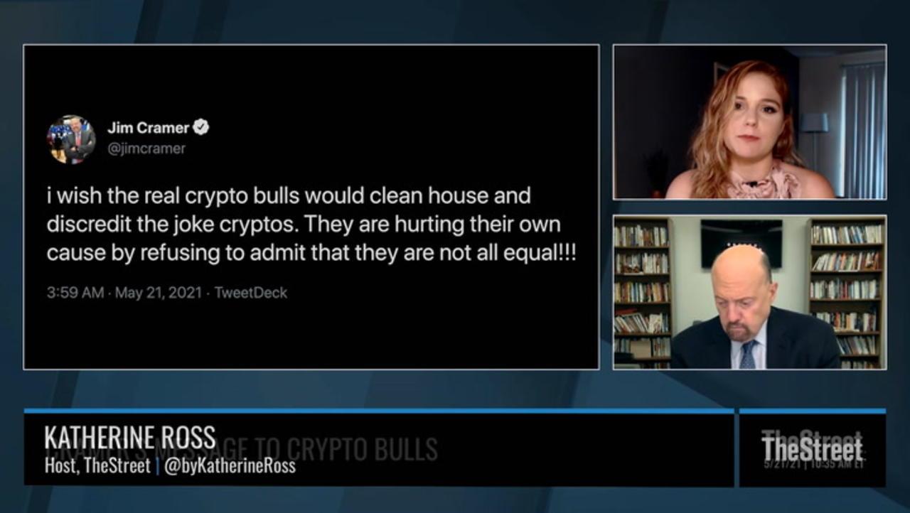 Jim Cramer Has a Message for Crypto Bulls