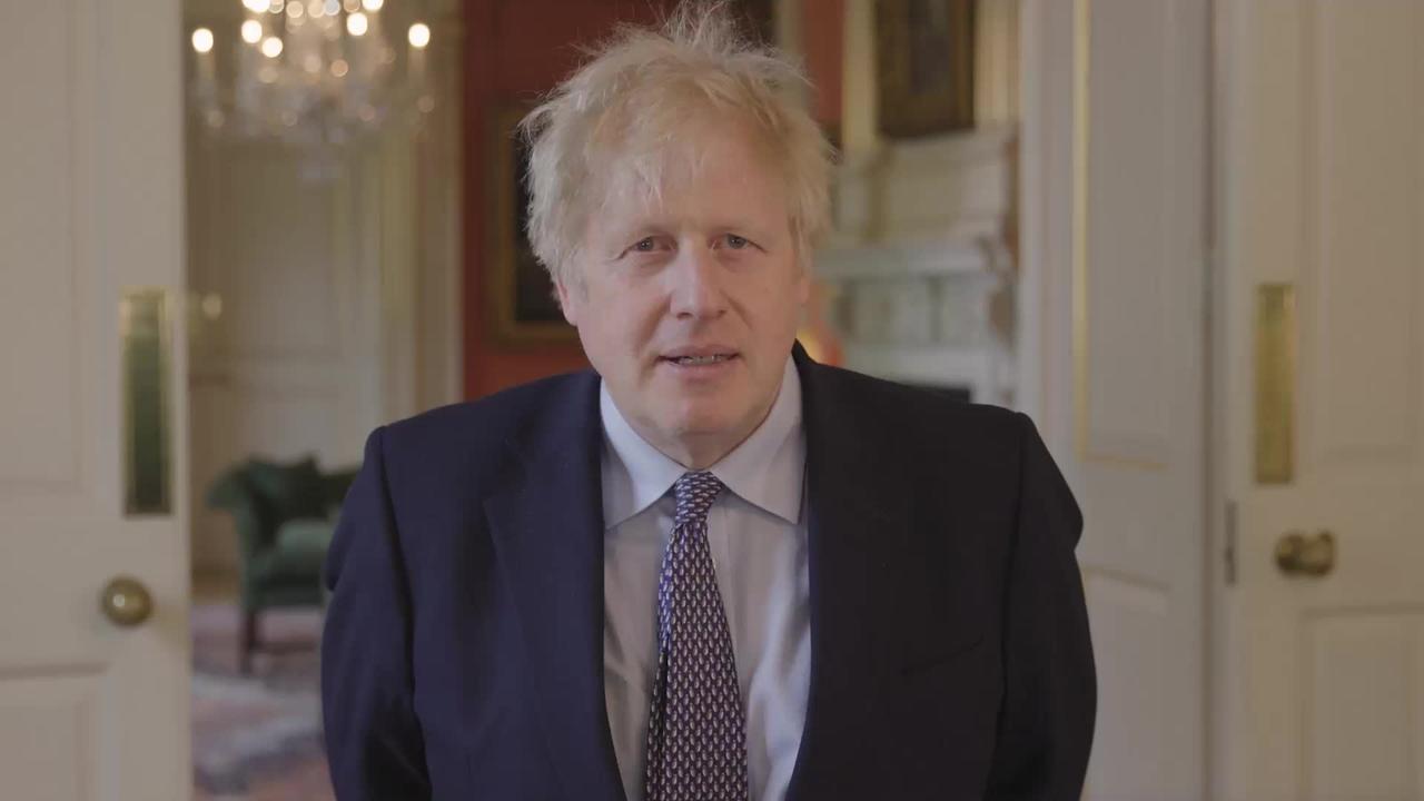 Boris Johnson calls for new international treaty on pandemic preparedness