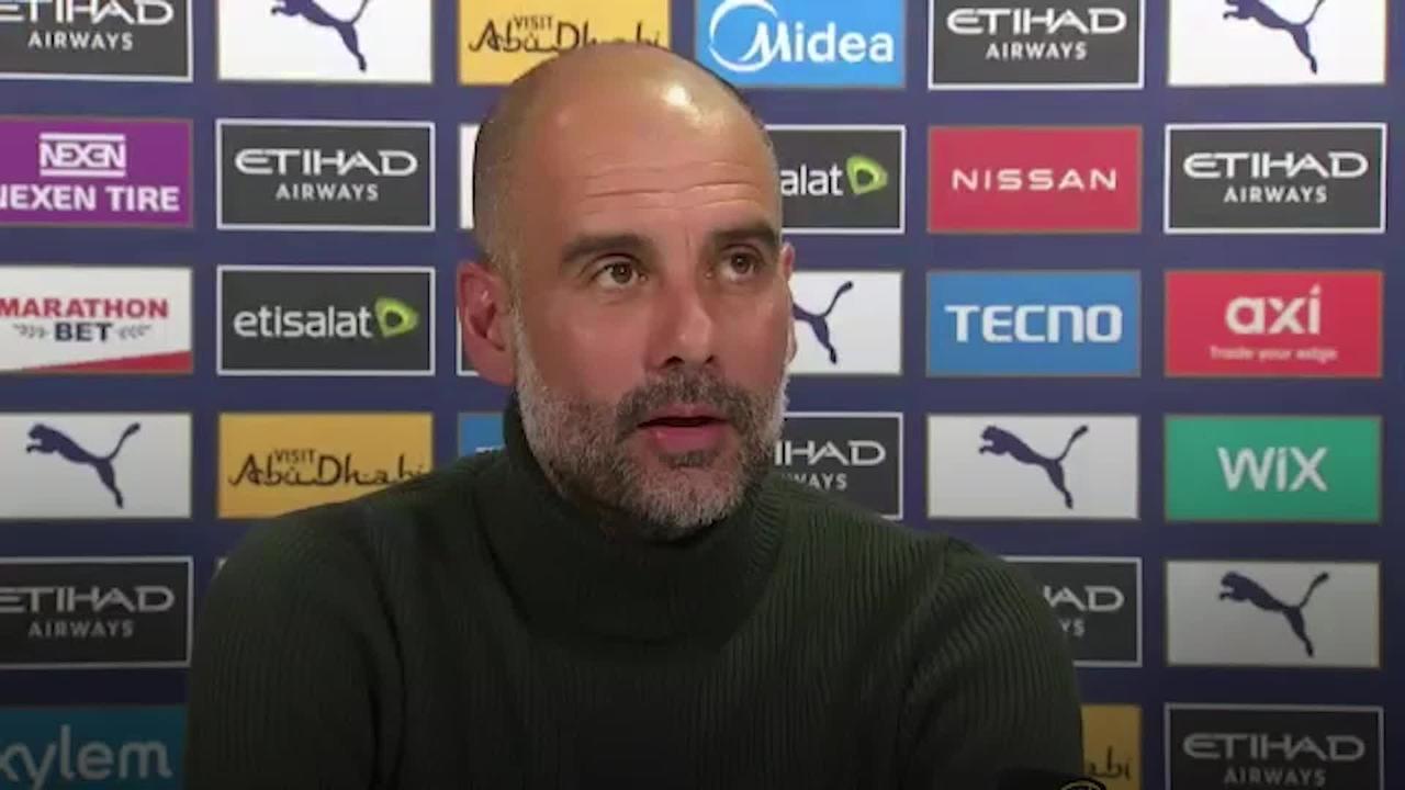 Pep Guardiola pays tribute to 'lion' Sergio Aguero