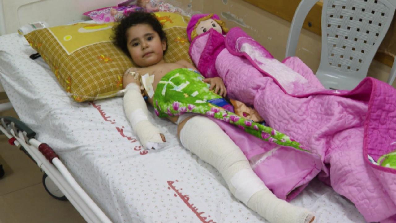 'Why did they do this to me?': 4-year-old injured in Gaza airstrike