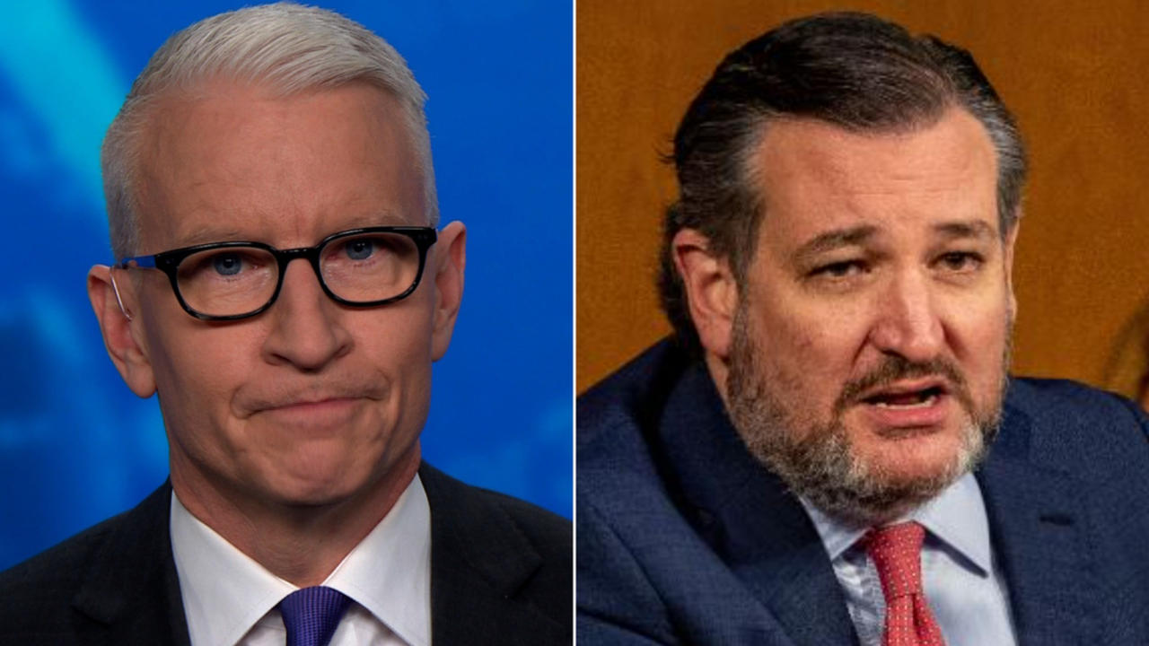 'The old anti-gay slur': Cooper calls out Cruz's tweet about US military