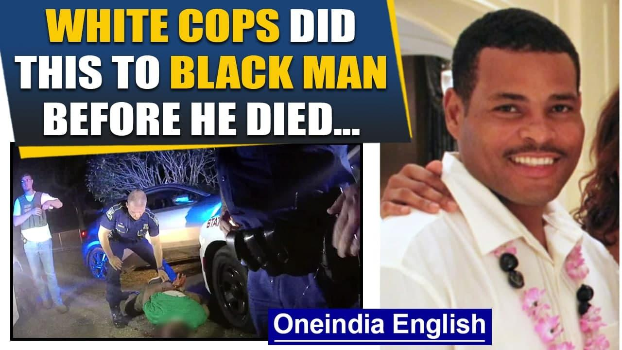 Black man tased, choked & beaten by US cops in new video before death| Ronald Greene| Oneindia News