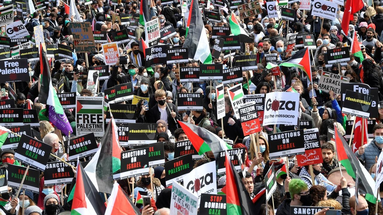 Palestinian solidarity protests held around the world