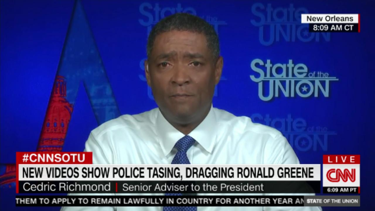 Biden adviser: 'We're going to give 200%' to pass police reform