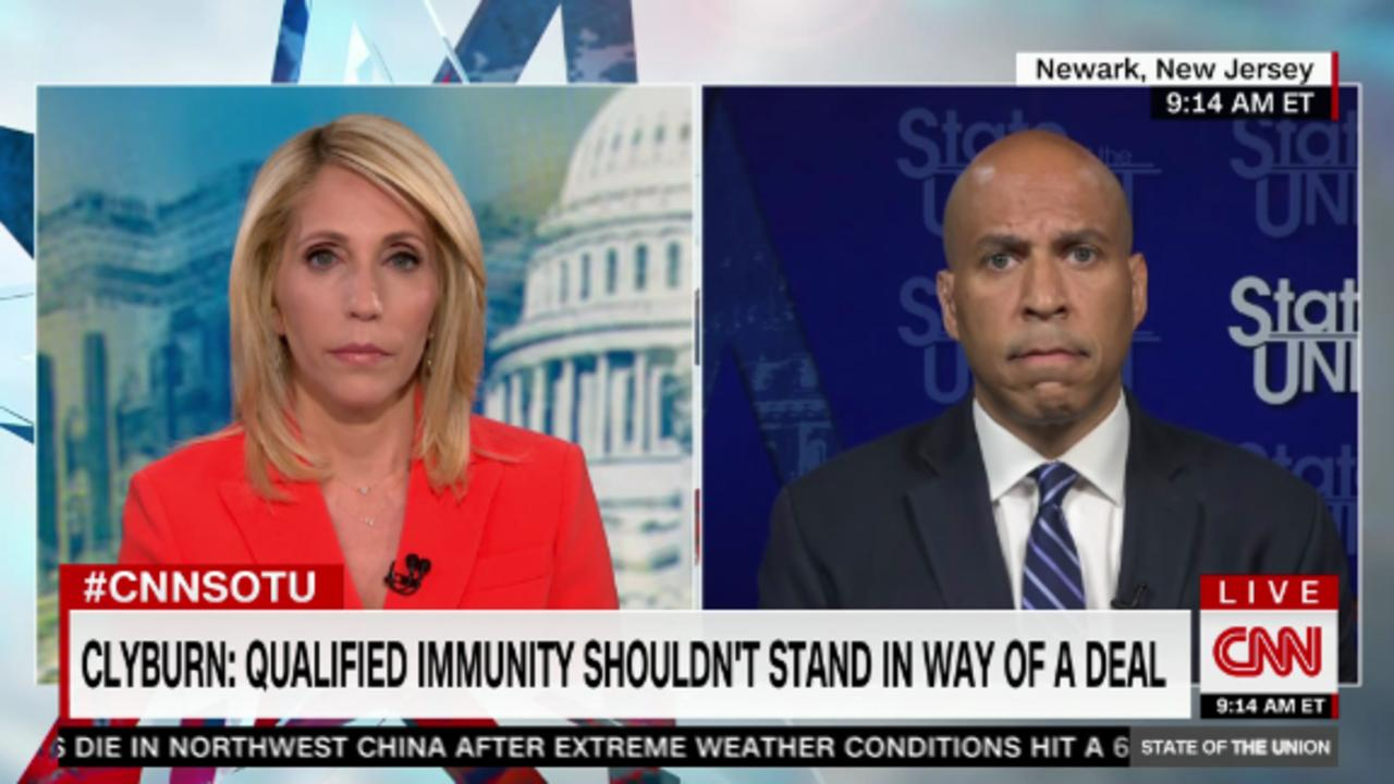 Booker: 'Meaningful progress' but no deal yet on police reform