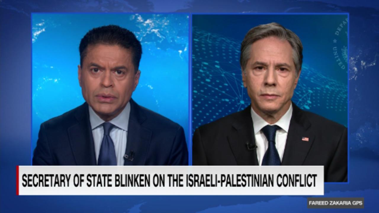 On GPS: U.S. Secretary of State Antony Blinken