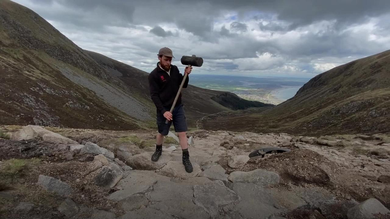 Mountain rangers on protecting Mourne Mountains following fires