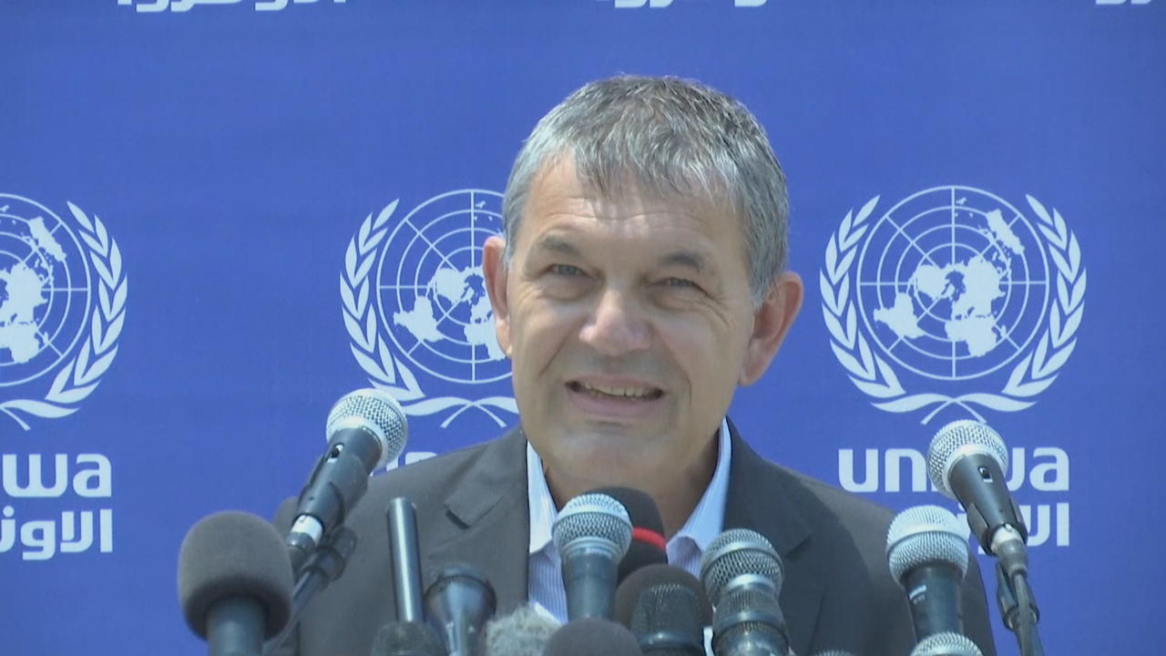 Chief of UN aid agency for Palestinians urges long-term solution