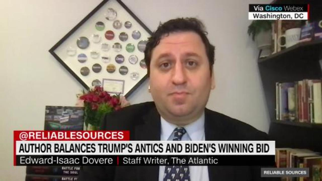 Who's more challenging to cover: Trump or Biden?