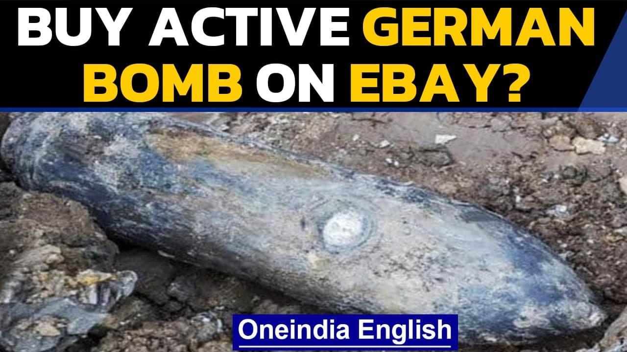UK man tries to sell 'active' German bomb on eBay | Hampshire Police evacuates area | Oneindia News