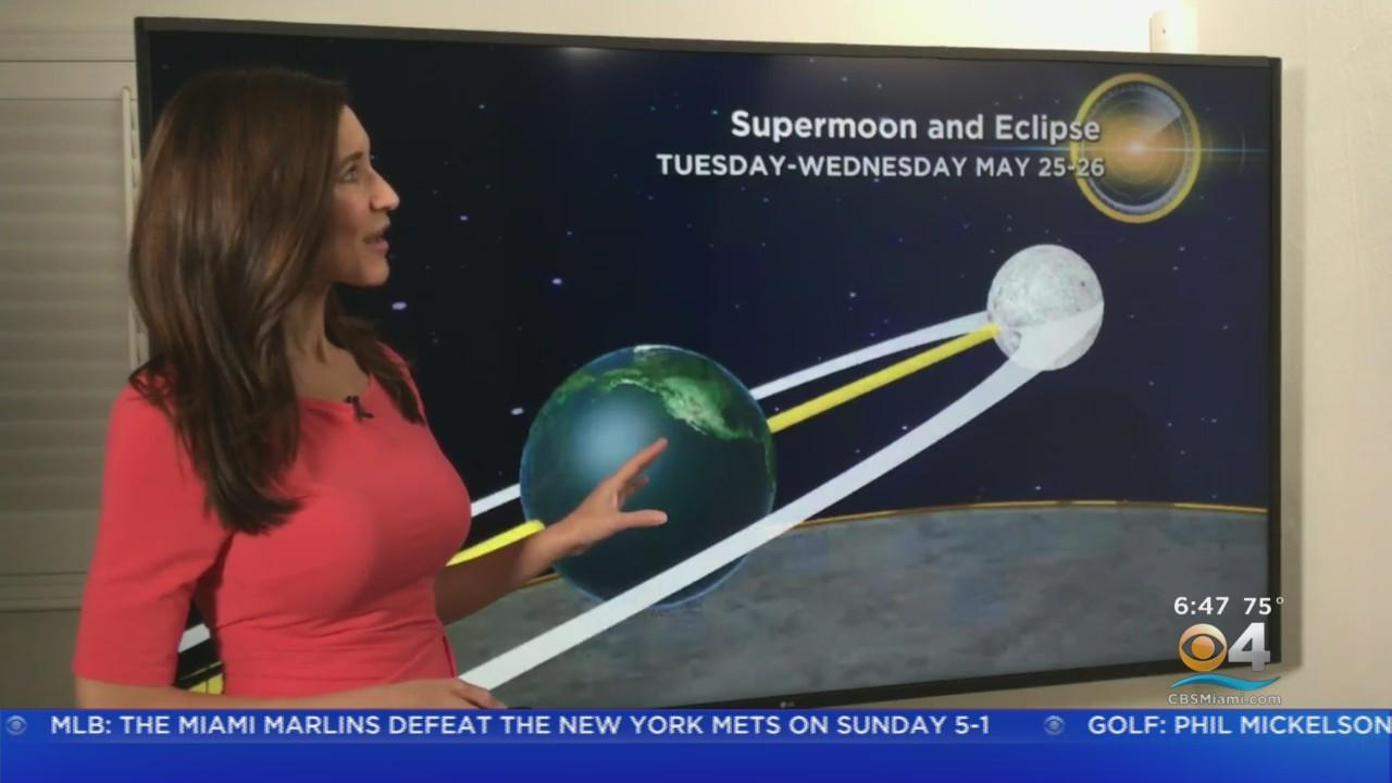 Skywatchers In For A Treat; Super Moon and Lunar Eclipse