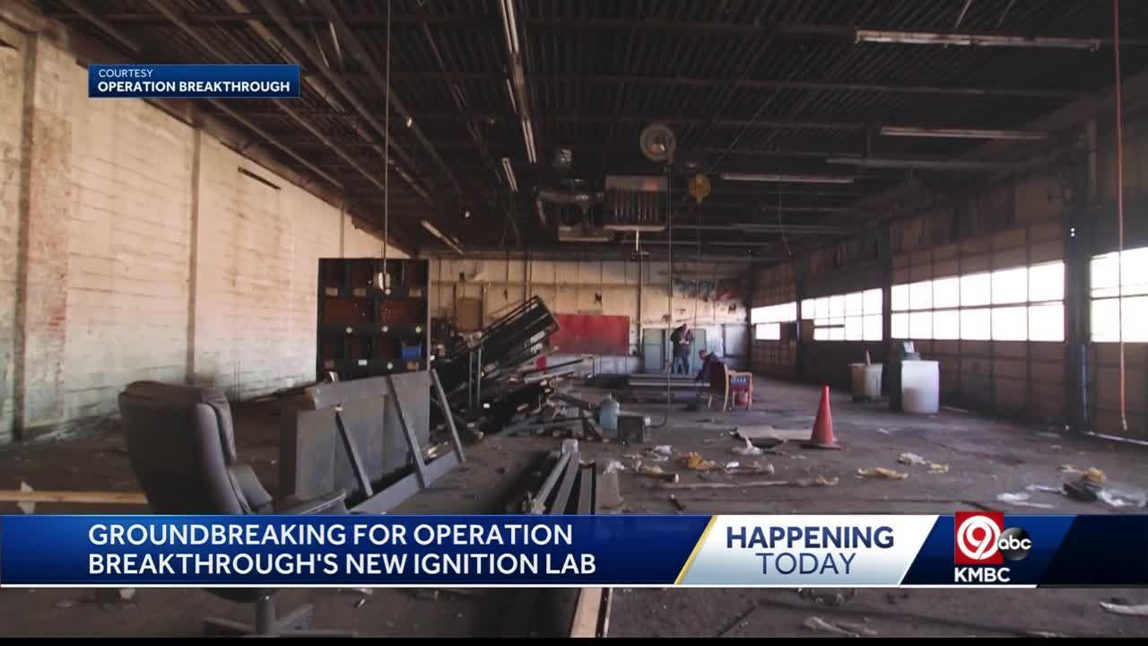 Chiefs TE Travis Kelce helping turn this old muffler shop into STEM Education, training facility for Operation Breakthrough