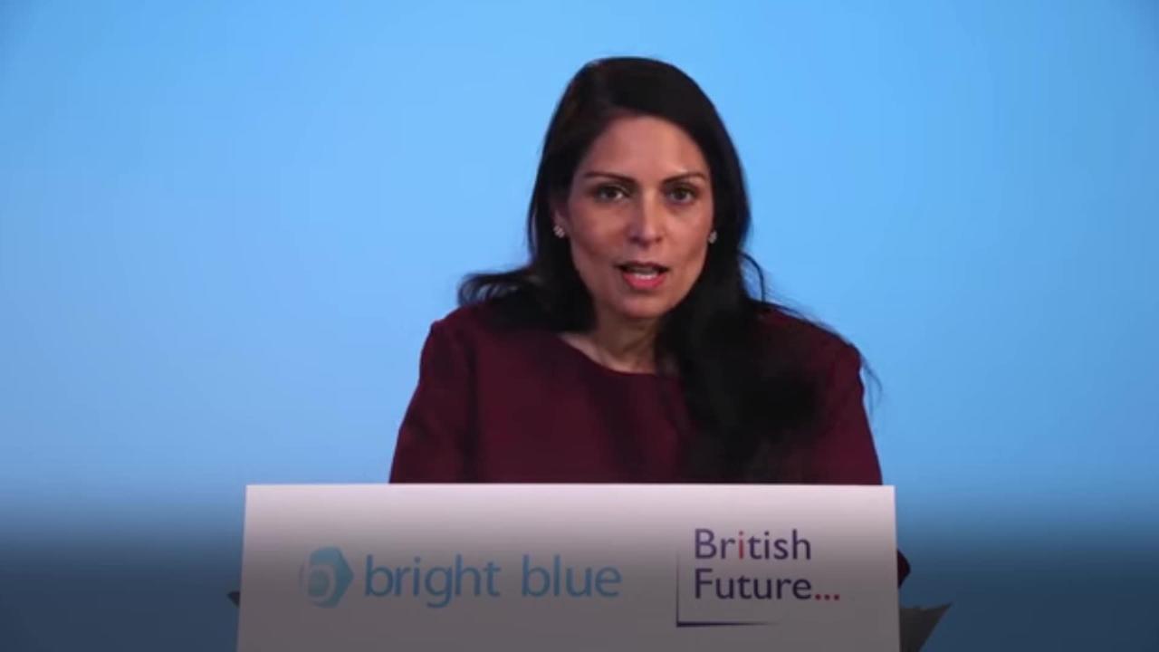 Priti Patel vows reform of 'broken' immigration system