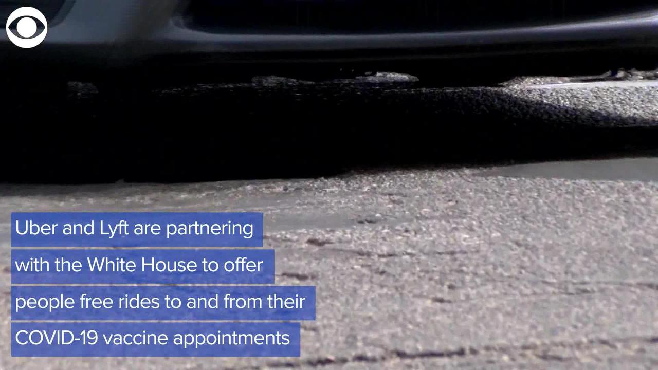 WEB EXTRA: Uber and Lyft Offer To Help Cover Cost Of Rides To And From COVID Vaccination Sites