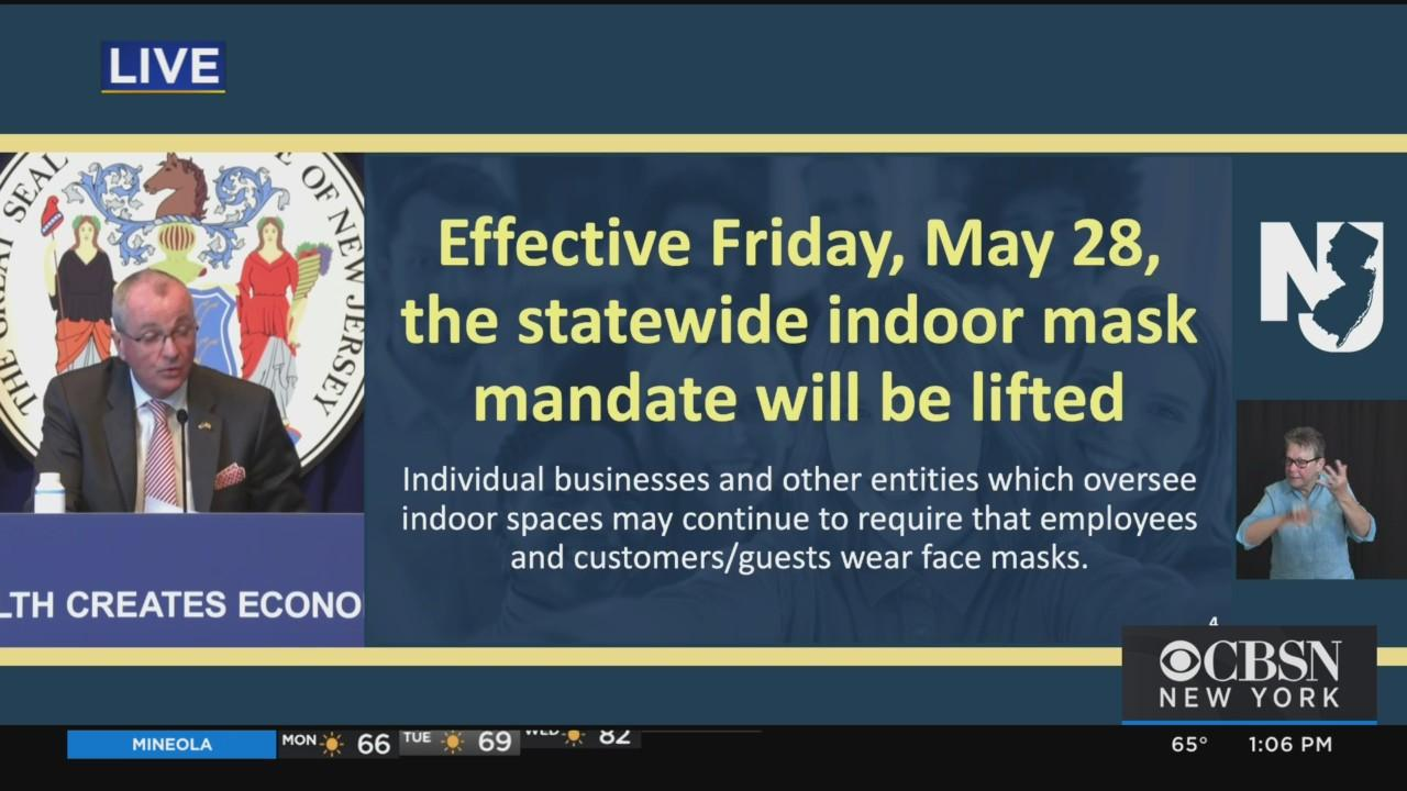 Press Conference: Gov. Murphy Announces Indoor Mask Mandate Will Be Lifted Friday