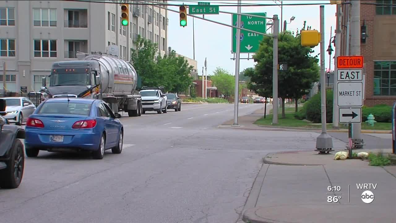 Drivers still adjusting to North Split closure one week into 18-month project