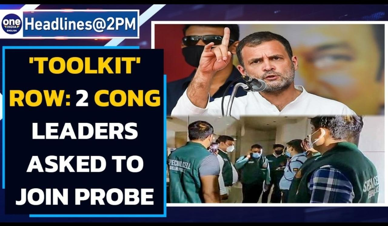 Toolkit row: Two congress leaders sent notice, Police raids Twitter offices| Oneindia News