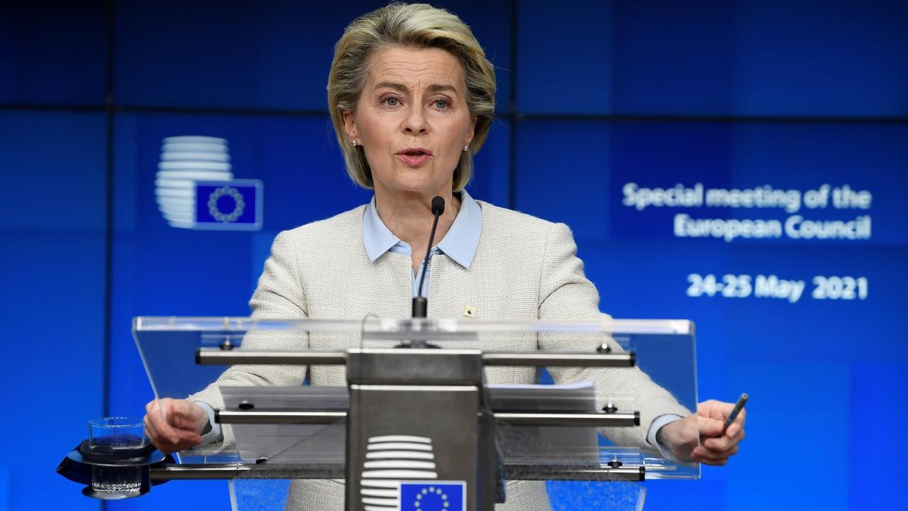 EU leaders agree on Belarus sanctions after journalist's arrest