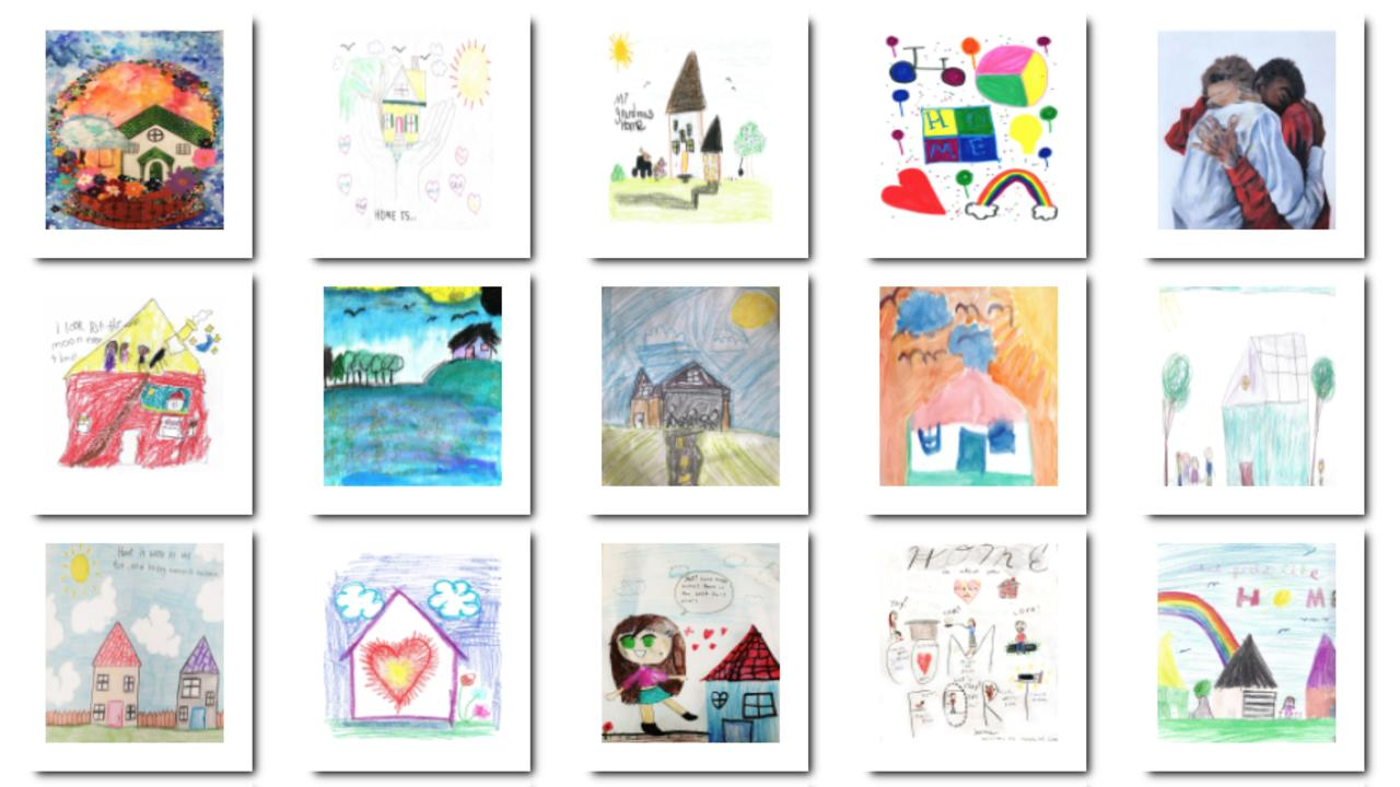 Florida art contest asks children: What does home mean to you?