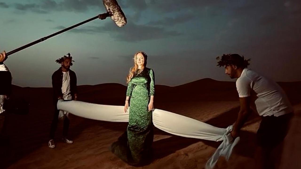 Lindsay Lohan to star in Netflix Christmas movie
