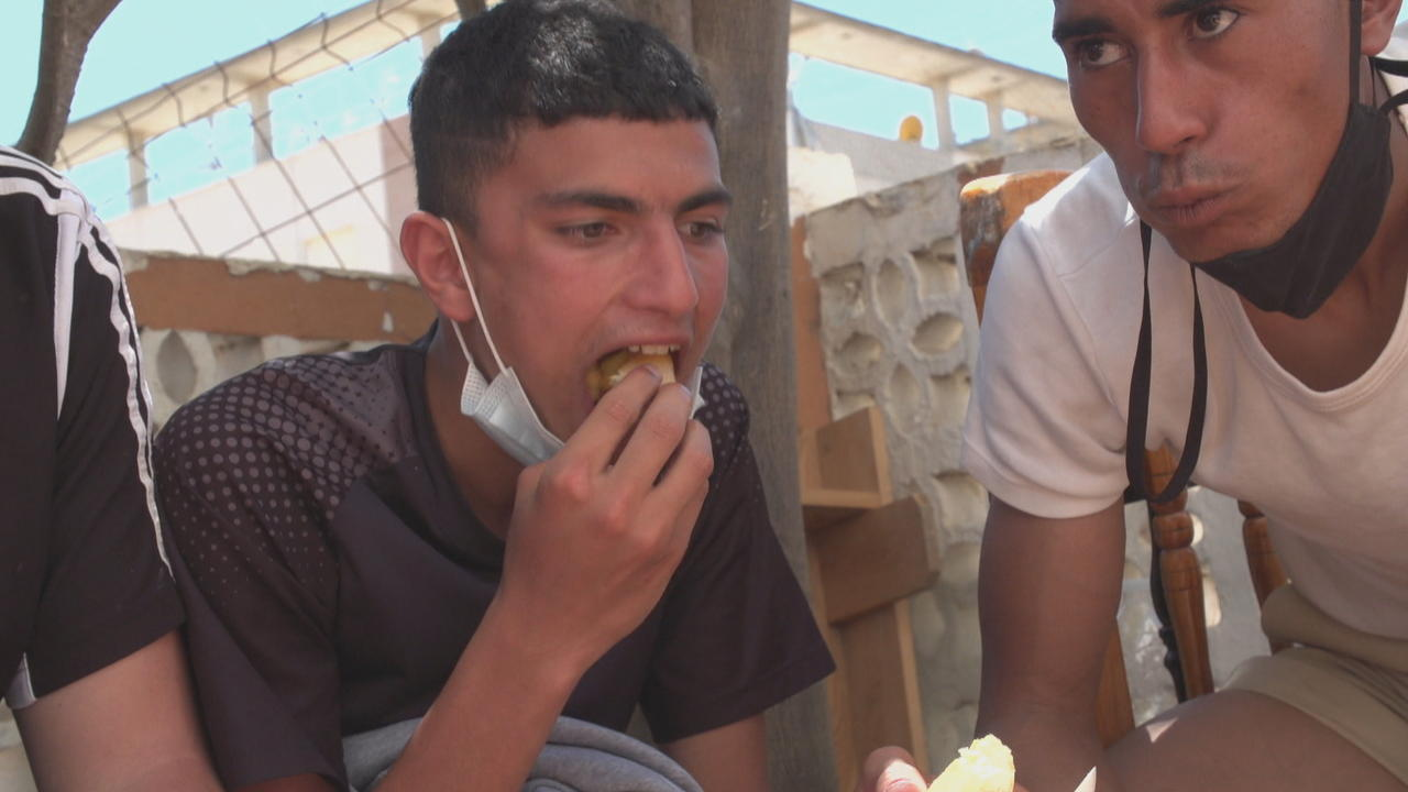Hundreds of young refugees, migrants struggle in Spain's Ceuta