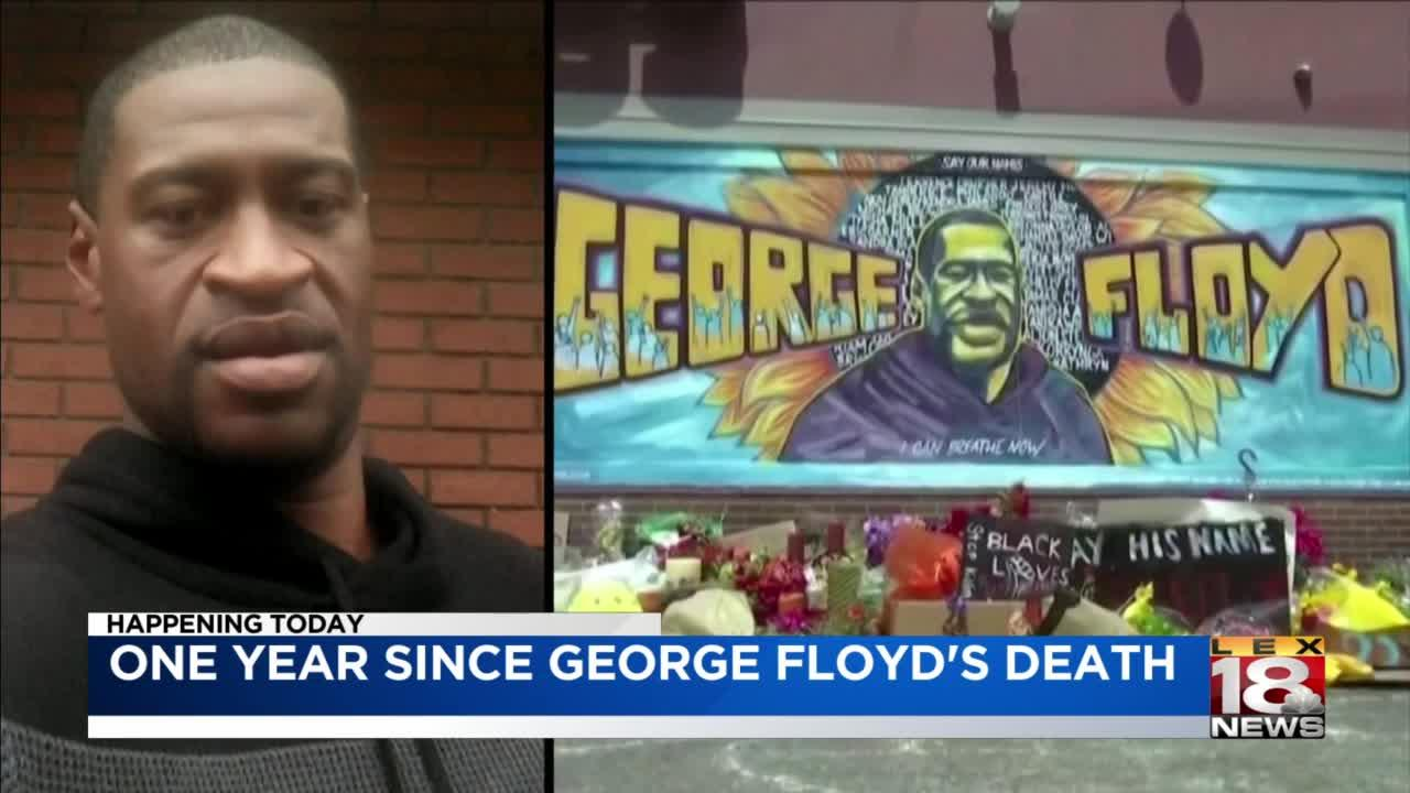 One year since George Floyd's death