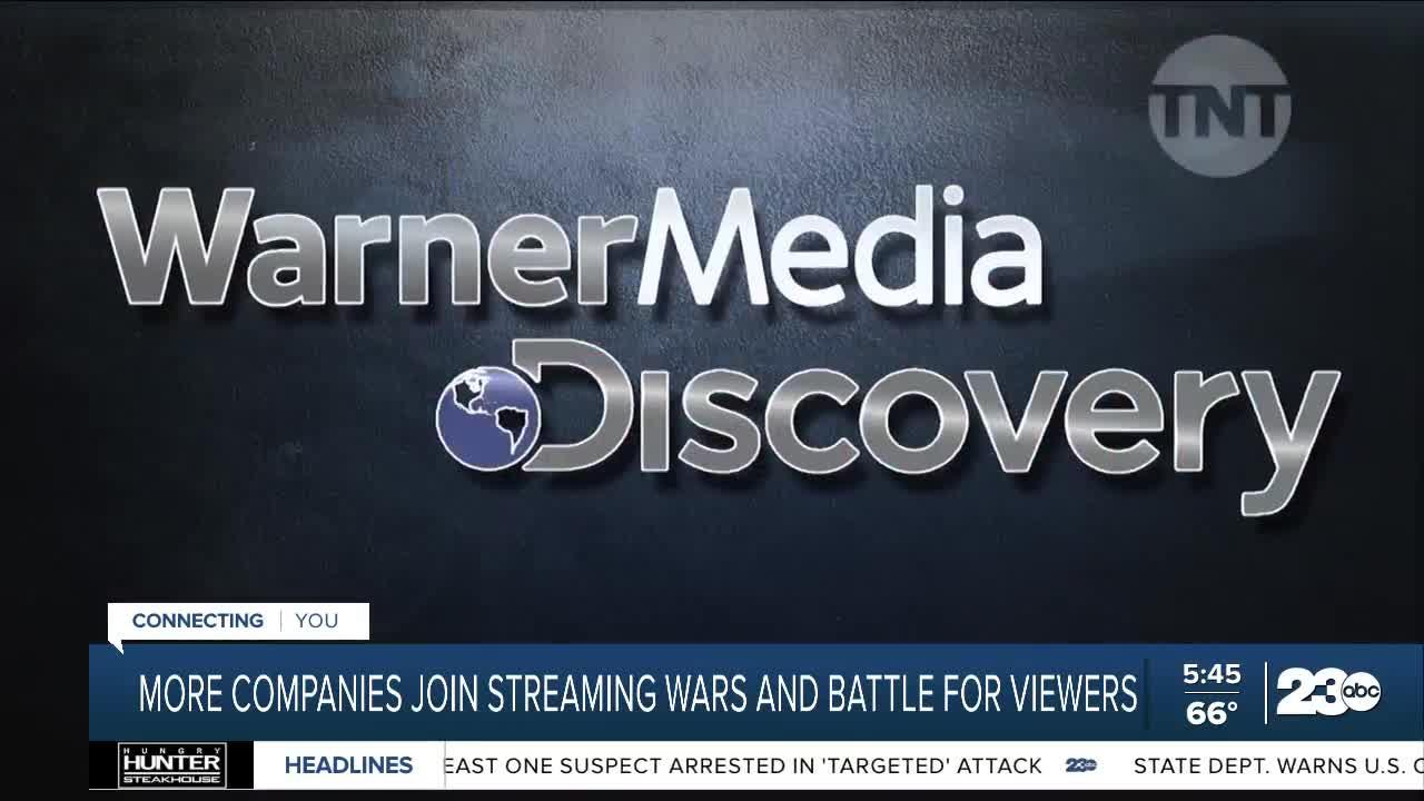 More companies join streaming wars and battle for viewers