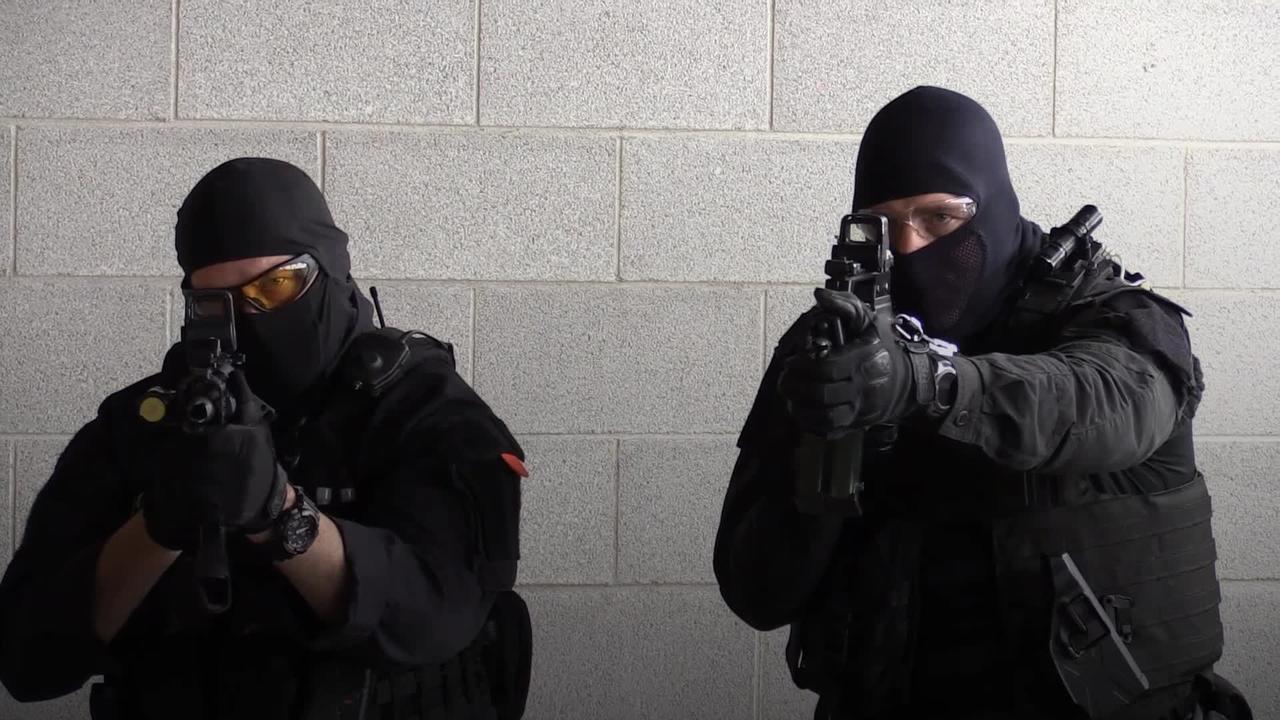 Devon and Cornwall Police train for G7 summit