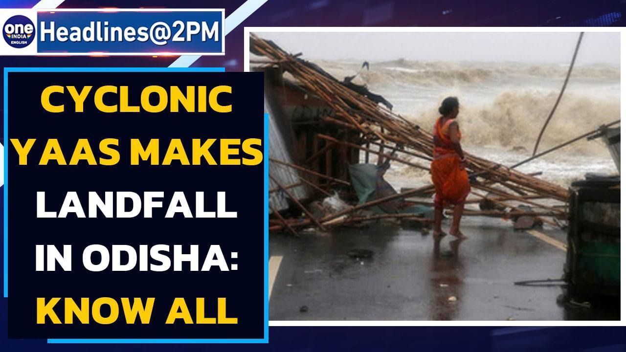 Cyclone Yaas: Lakhs evacuated in odisha, bengal as cyclone yaas makes landfall| Oneindia News