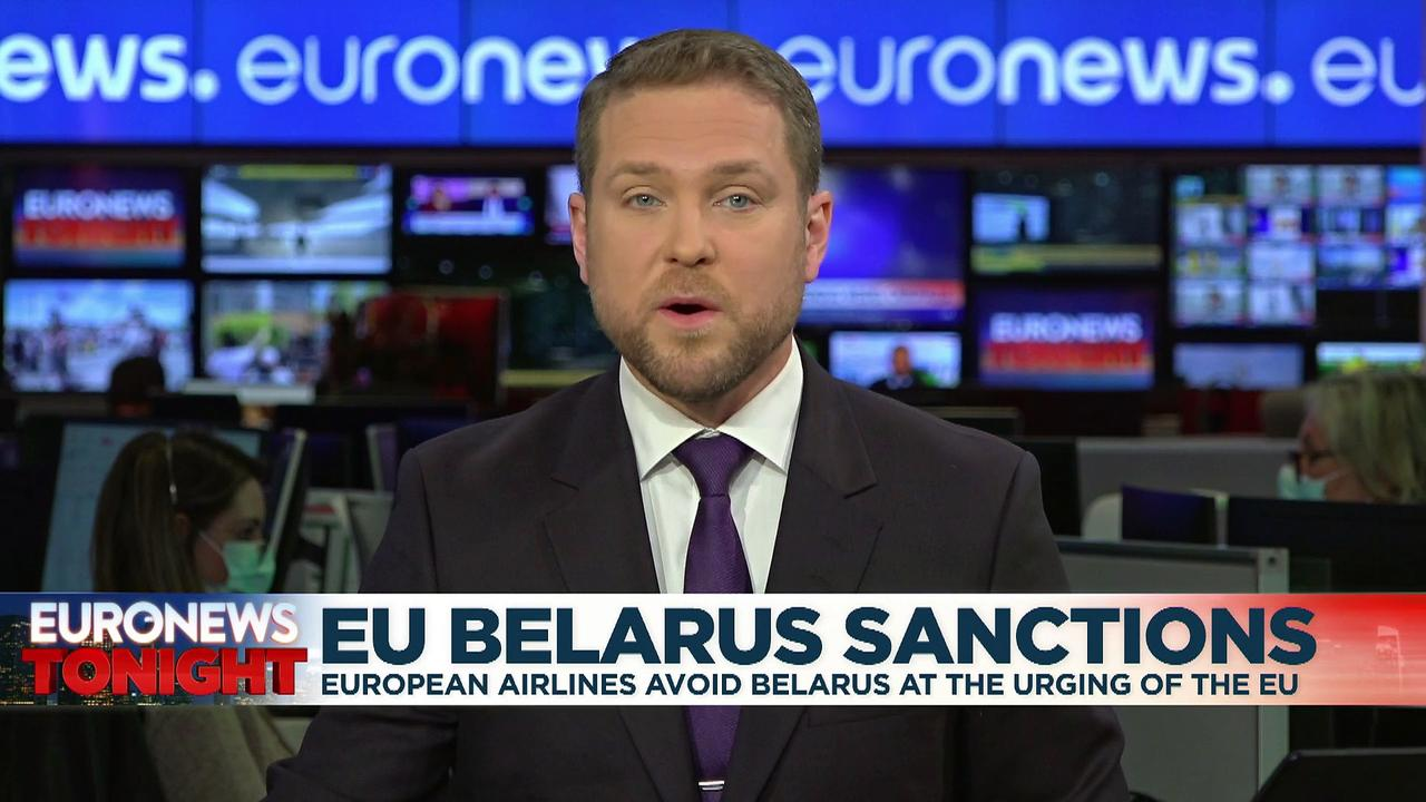 Diverting flight was 'huge mistake' by Belarus regime, Tsikhanouskaya tells Euronews