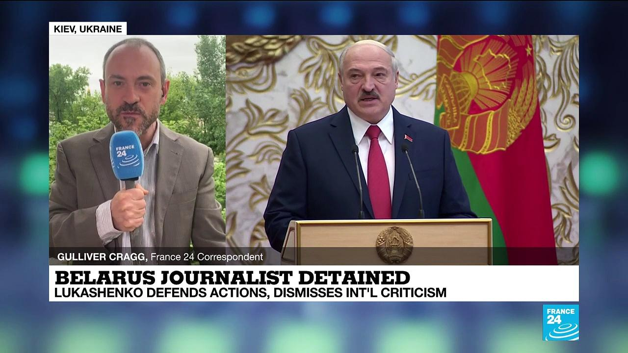 Belarus: Lukashenko says he acted 'lawfully' in plane diversion