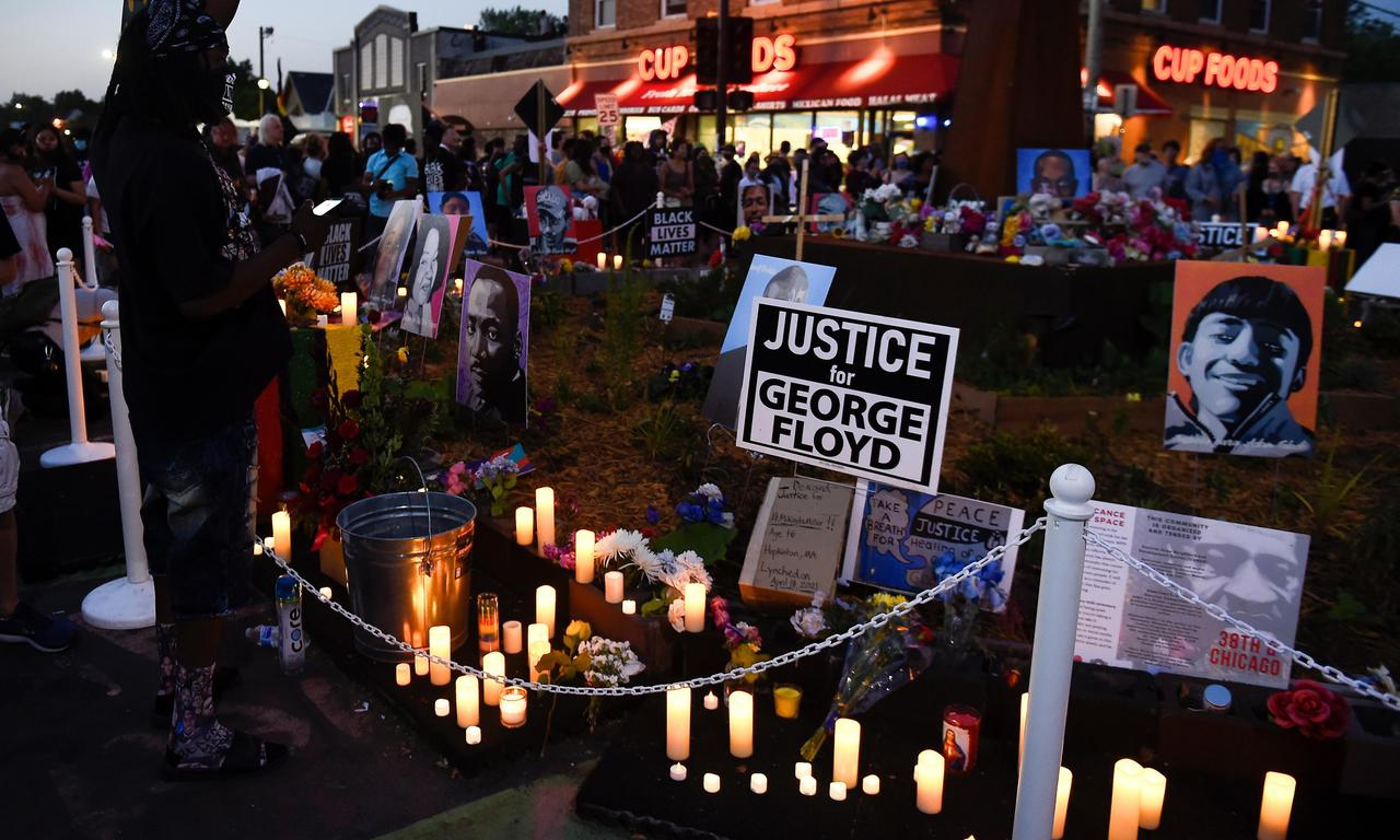 Thousands gather in US cities mark one year anniversary of George Floyd's death