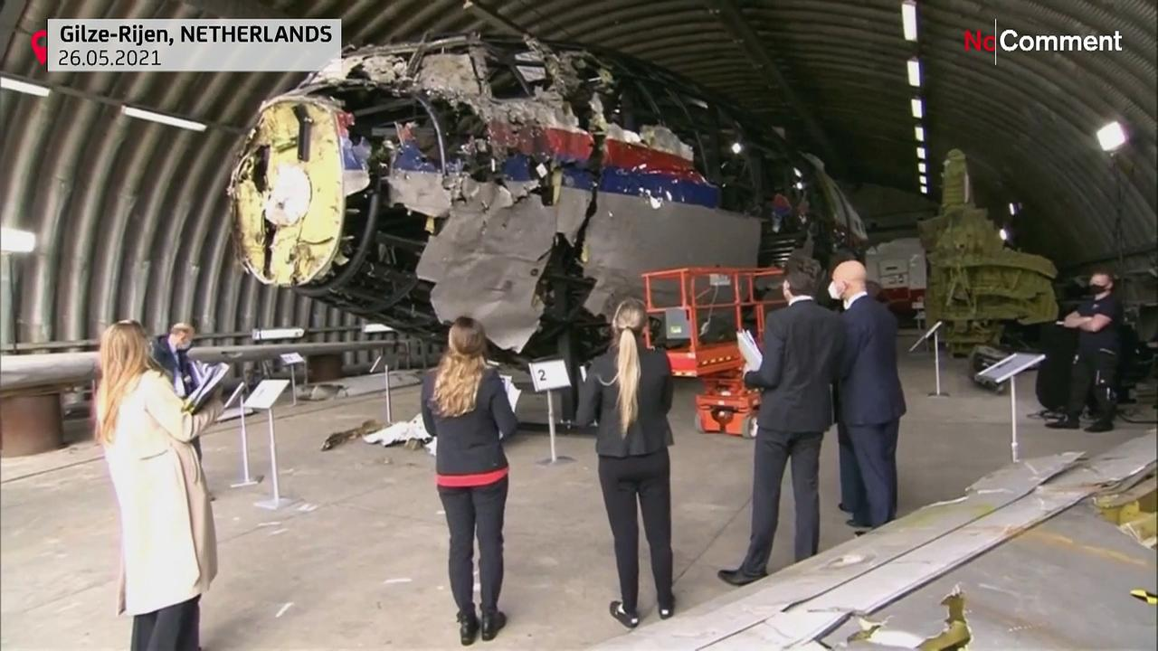 Dutch judges inspect Malaysia flight MH17 wreckage ahead of suspect trial