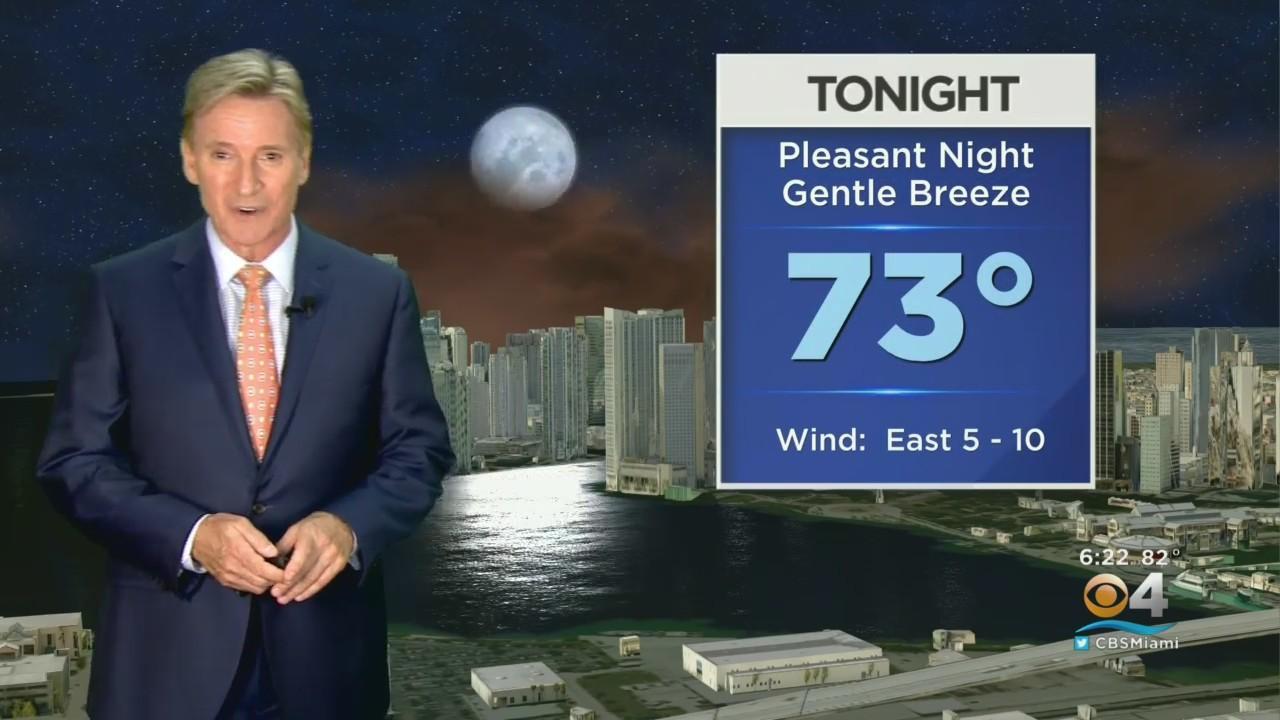 CBSMiami.com Evening Weather 5-25-21