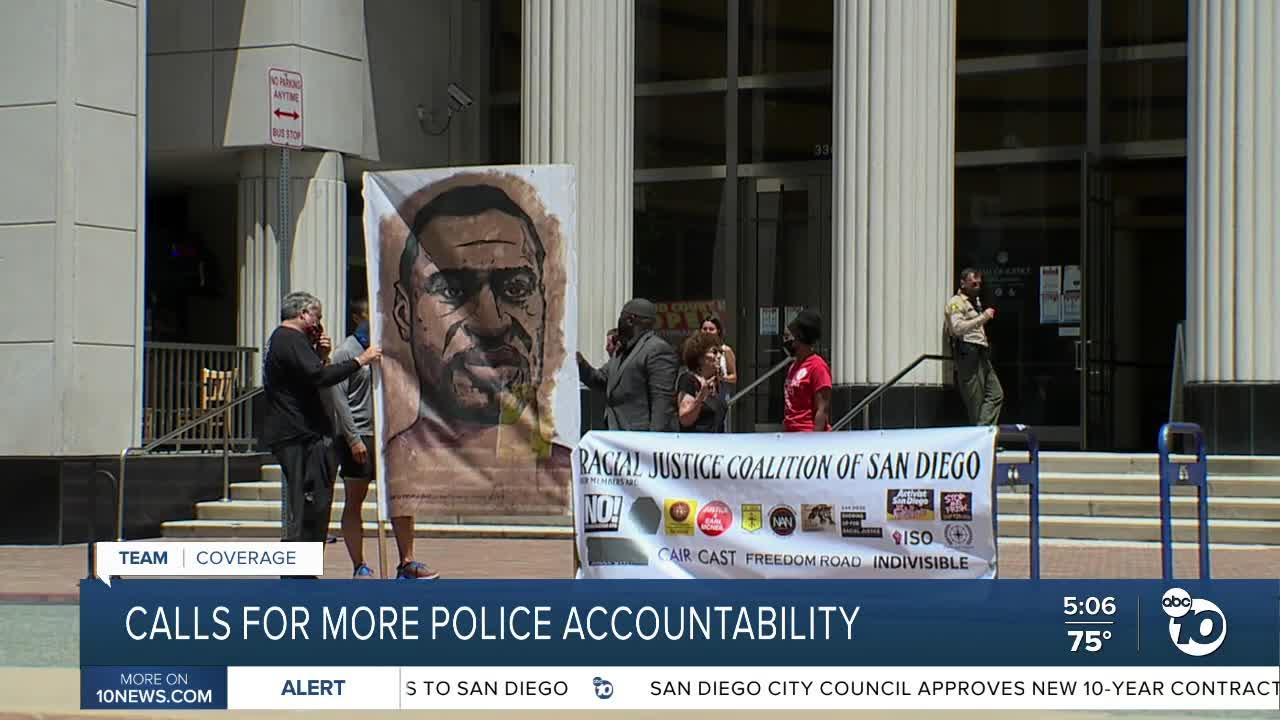 San Diego activists call for more police accountability
