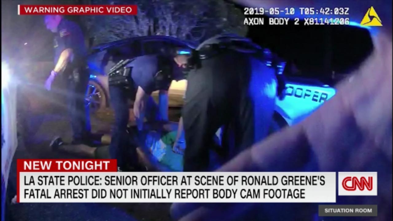 Unreported bodycam video in Louisiana case