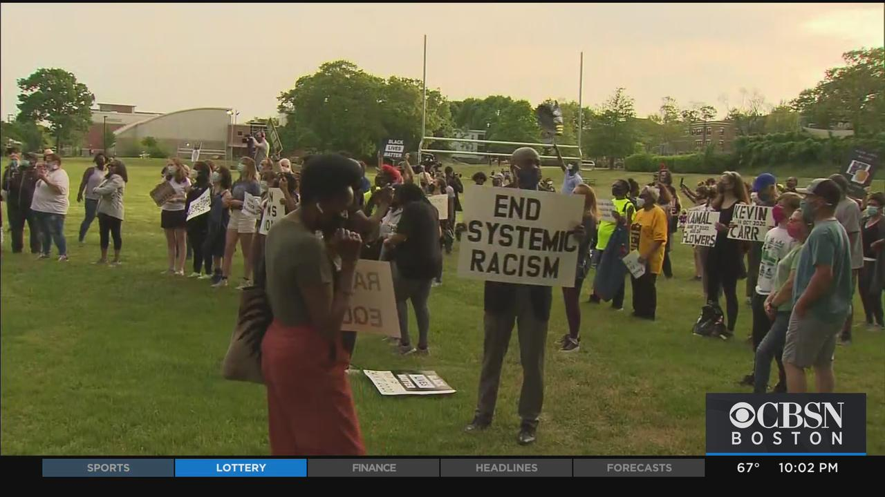 March From Milton To Mattapan Marks First Anniversary Of George Floyd's Death