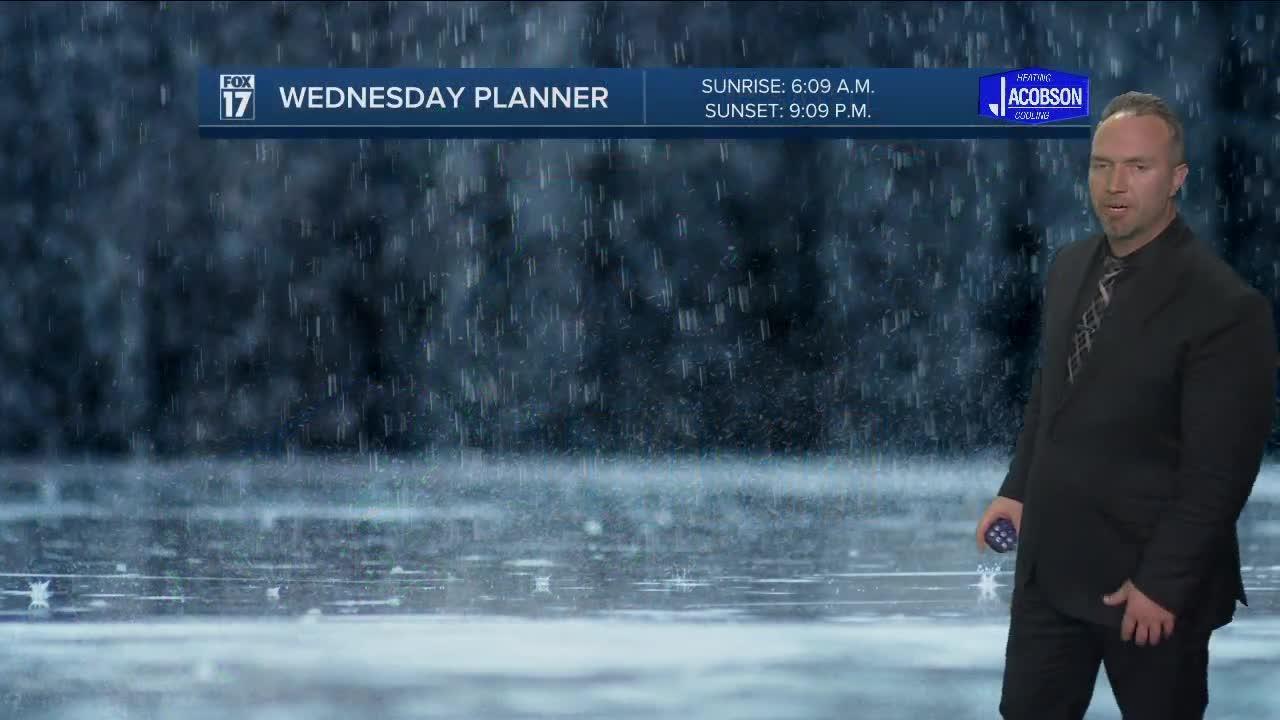 Tuesday Evening Forecast May 25, 2021