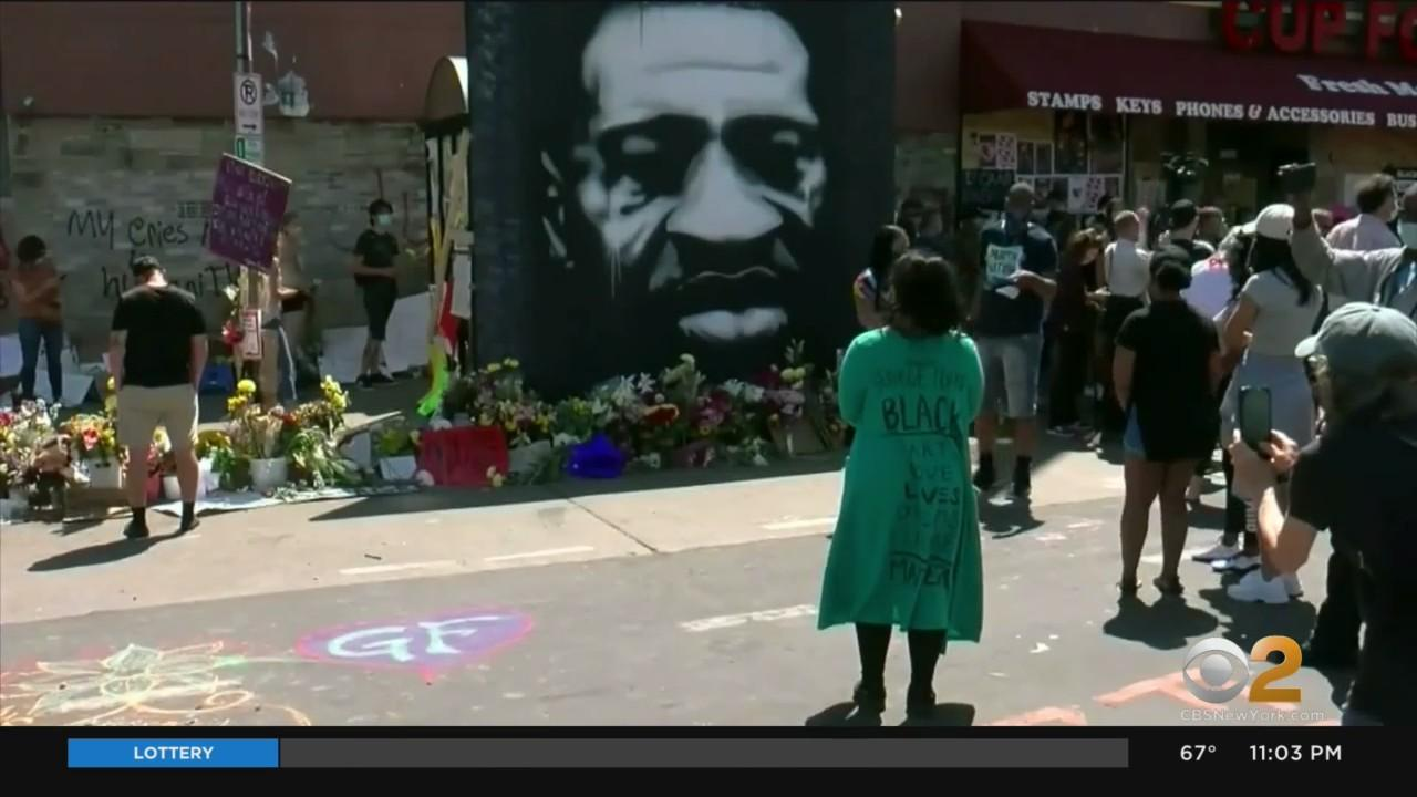 Rallies Held Around The Country On 1-Year Anniversary Of George Floyd's Death