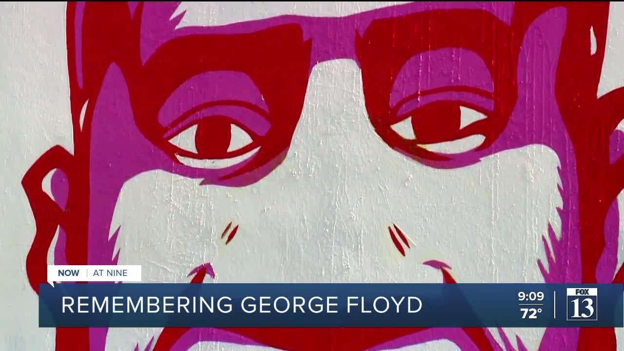 Utah activists honor George Floyd on one-year anniversary of his death