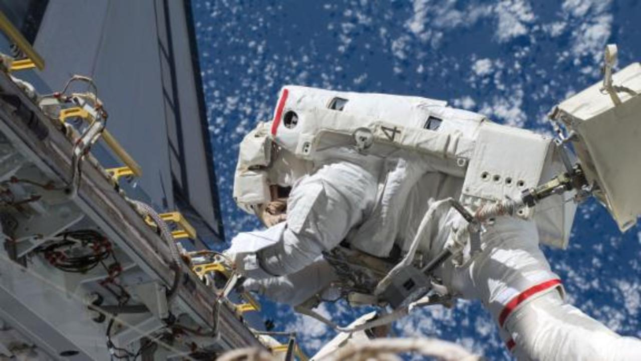 What it's like to walk 220 miles above Earth