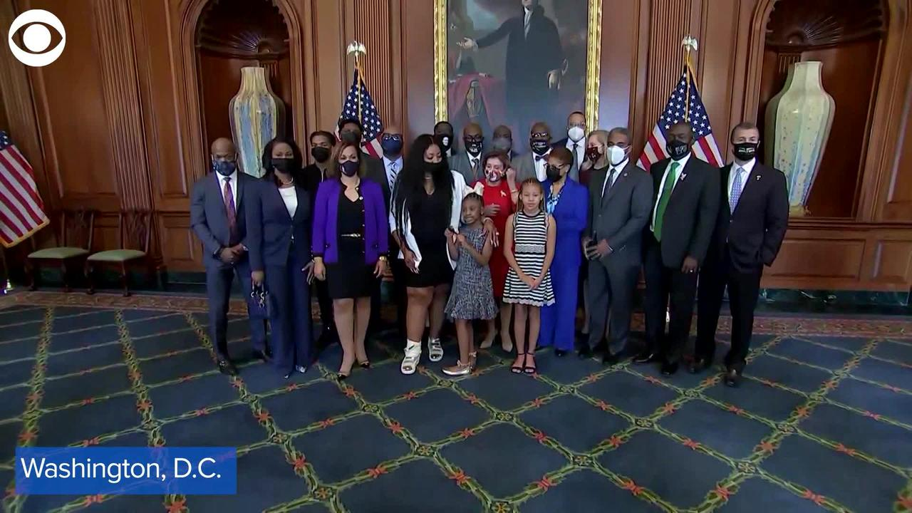 WEB EXTRA: George Floyd's Family Meets With Lawmakers Marking 1 Years Since His Death