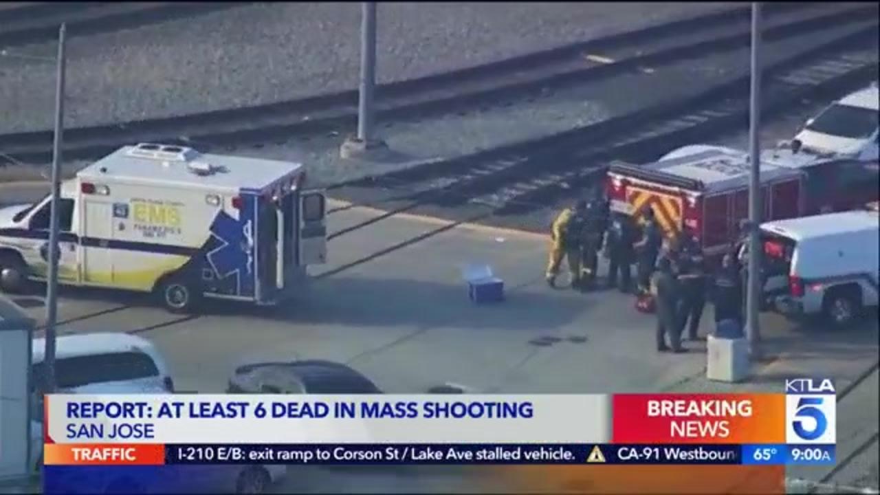 Authorities: Multiple people killed in shooting at California rail yard