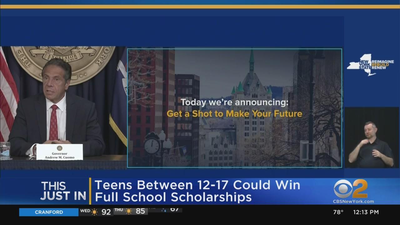 Cuomo Announces College Tuition Raffle