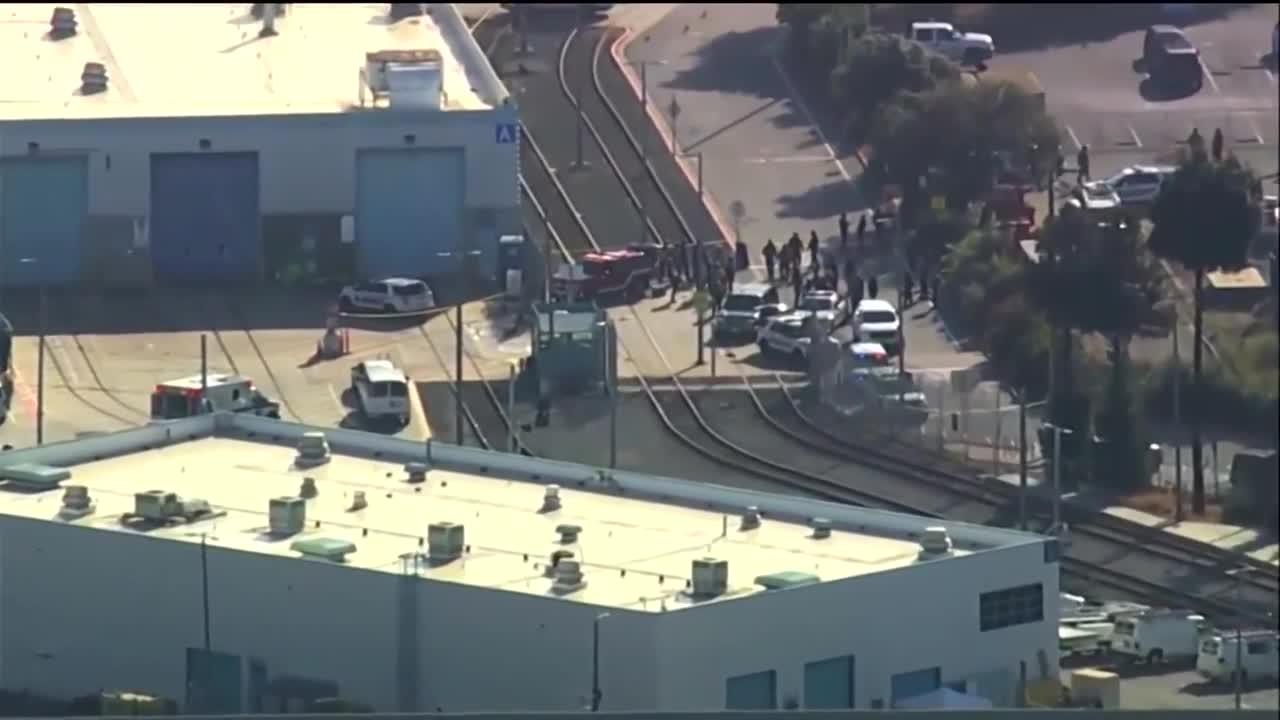9 dead, including gunman, in shooting rail at yard serving Silicon Valley