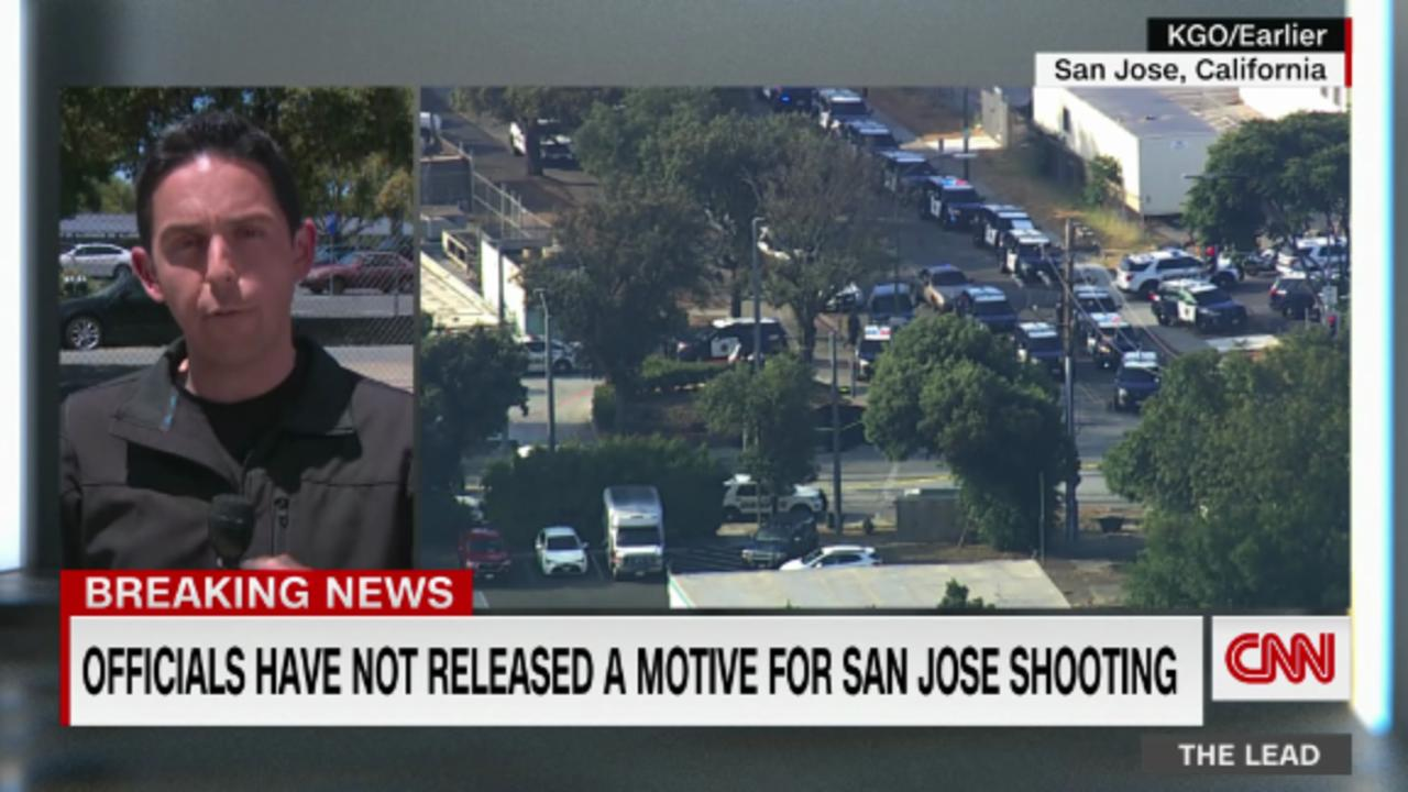 Officials say the gunman took his own life after killing 8 people in San Jose, California