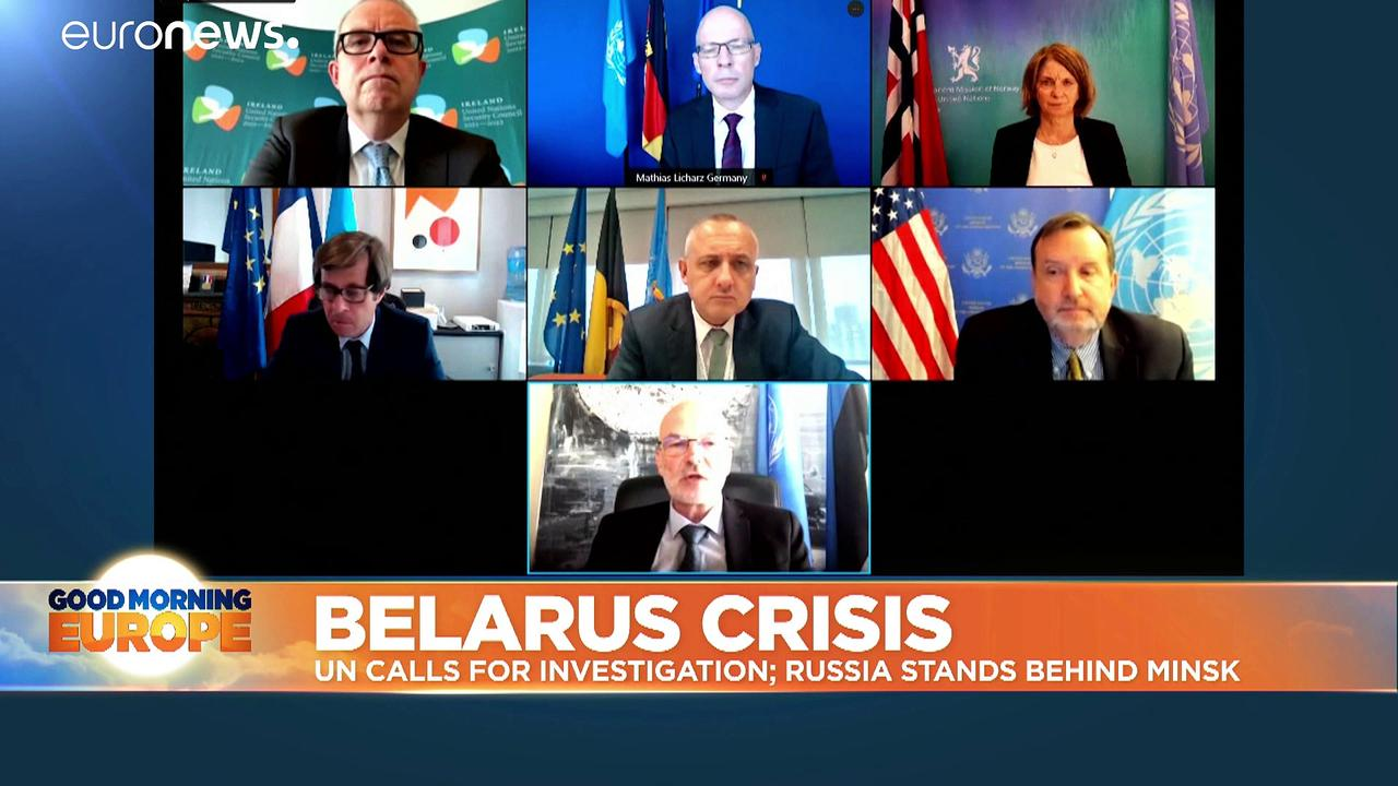 US, European nations call for investigation into Belarus plane diversion at UN Security Council