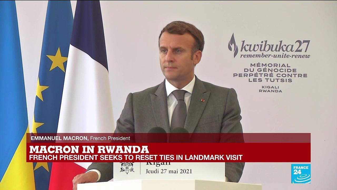 REPLAY - France's Macron recognises 'responsibility' in Rwanda genocide