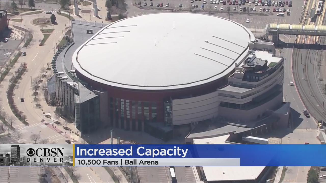 More Avalanche, Nuggets Fans Can Attend Playoffs At Ball Arena, Capacity Increased To 10,500
