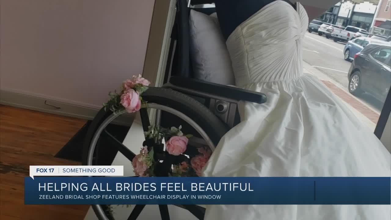 Helping all brides feel beautiful